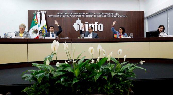 CDMX: INFO ordena a SACMEX revelar información sobre infraestructura hidráulica en Milpa Alta (Contra Replica)
