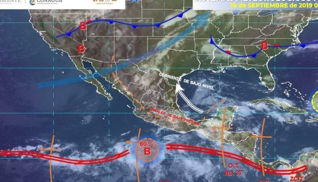 Jalisco: Alertan por fuertes lluvias y bancos de niebla en Zacatecas (El Universal)