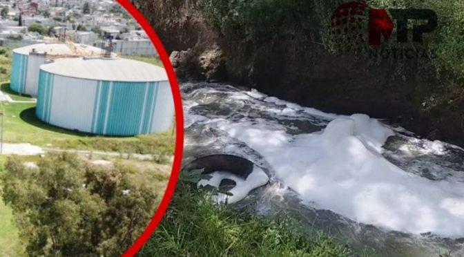 Puebla: Las plantas de tratamiento sí producen espuma, pero no es tóxica (MTP noticias)