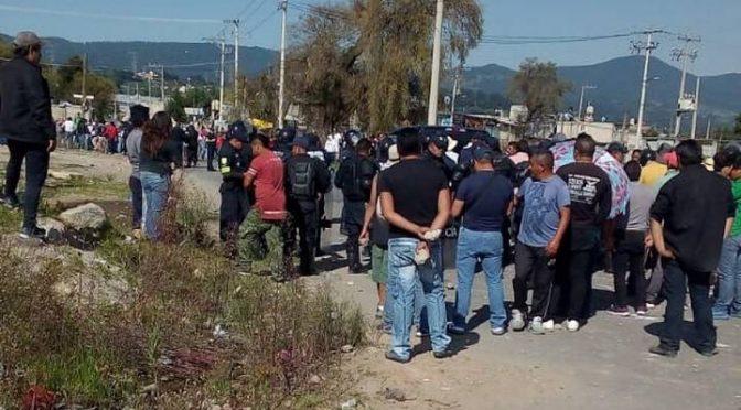 Edomex: Se enfrentan dos pueblos por obras de drenaje (El Sol de Toluca)