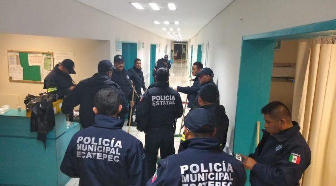 Estado de México: Por fuertes lluvias, se inunda hospital en Ecatepec (Milenio)
