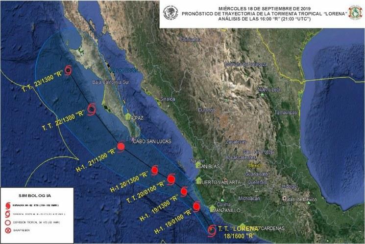 "CDMX: Activa Semar Plan Marina por tormenta tropical ""Lorena"" (La Jornada)"