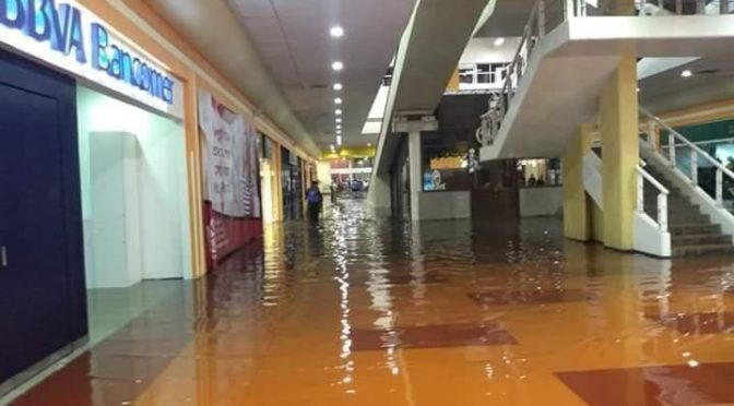 Estado de México: Lluvias paralizan línea 1 del Mexibús y 10 colonias en Ecatepec (La Jornada)
