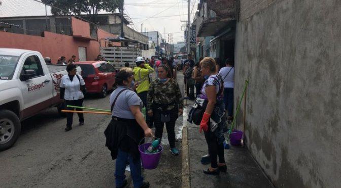 Estado de México: Realizan labores de desinfección en 950 viviendas en Ecatepec (La Jornada)