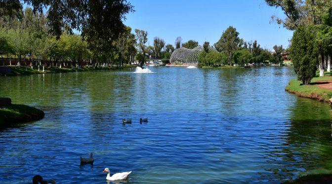 Zacatecas: Anuncian plan de saneamiento del lago La Encantada (Imagen)