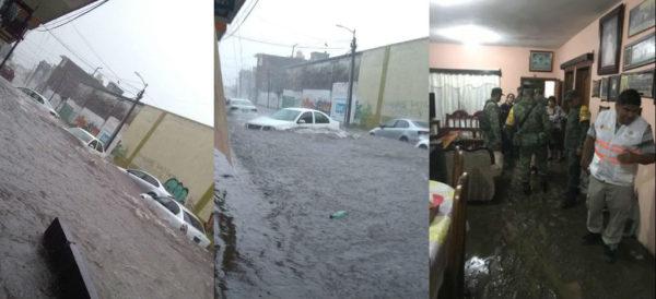 Chiapas: Caos por desborde de ríos en Tapachula (Aristegui noticias)