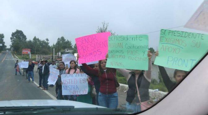 Hidalgo: Piden apoyo para evitar contaminación de Minera Autlán (El Sol de Tulancingo)