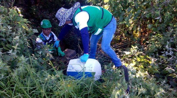 Puebla: Toman muestras para medir contaminación del río Acotzala (Municipios)