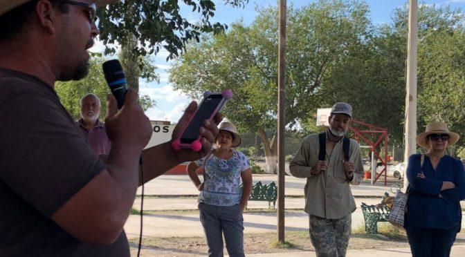 Guanajuato: Alzan la voz contra la mina pobladores de Samalayuca ( Pie de Página)