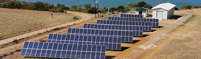 La primera planta de desalación 100% solar de África ha producido 10 millones de litros de agua potable (AguasResiduales.info)