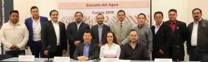 """México: CONAGUA, ANEAS y CAEM inauguran los cursos profesionales de la """"Escuela del Agua 2019"""" (AguasResiduales.info)"""