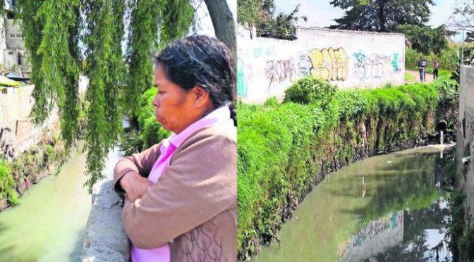 Toluca: Preocupa contaminación de río Verdiguel, habitantes temen enfermedades (El Gráfico)