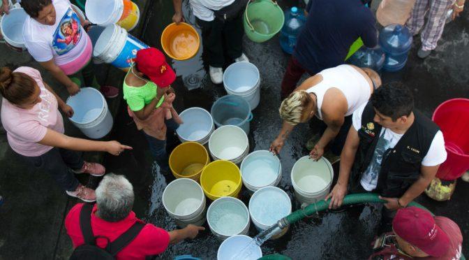 Sheinbaum, Conagua: Llovió poco. Se reducirá el agua para Edomex y la CdMx en lo que resta del año (SinEmbargo)