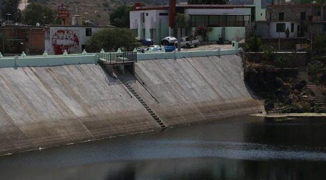 San Luis Potosì: Se agota el agua en presa de Mexquitic (Pulso)
