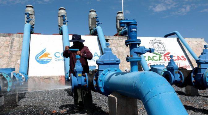 Zacatecas: Inversión millonaria para agua potable (NTR)