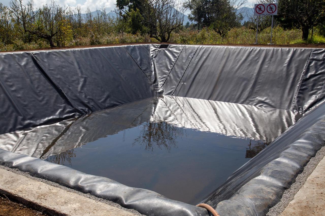 Puebla: Inauguran olla de captación de agua para productores de Zacatlán (Municipios)