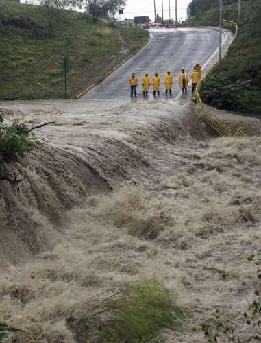 Impacto de la tormenta tropical Alex en la infraestructura de agua, drenaje y saneamiento en diversos municipios del Estado de Nuevo León