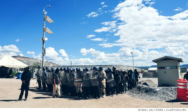 Zacatecas: Minera Peñasquito, entre el negocio y la vida de las comunidades de Mazapil (Contralinea)