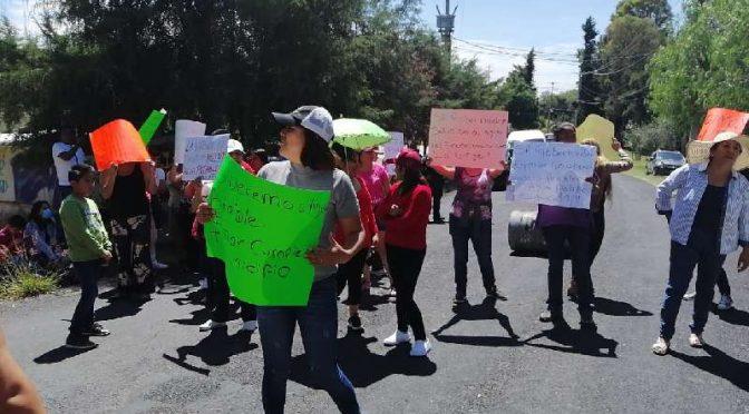 Tlaxcala: Estalla conflicto por fallas de agua en Panotla  (Agenda Tlaxcala)