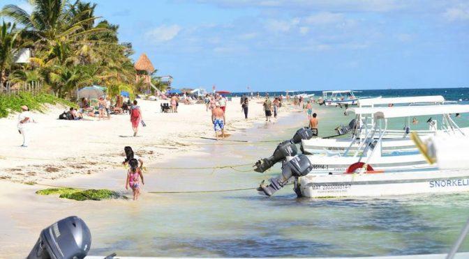 Quintana Roo: 'Inyectan' agua azul al mar para recuperar el tono turquesa de las playas (Novedades Quintana Roo)