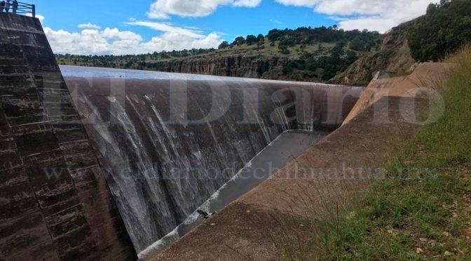 Chihuahua: Comienza a derramar la presa Abraham González (El Diario de Chihuahua)