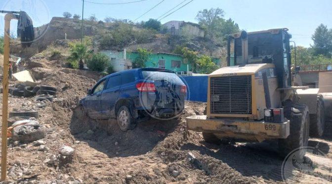 Ciudad Juárez: Intento de toma clandestina, posible causa de megafuga de agua (El Diario)