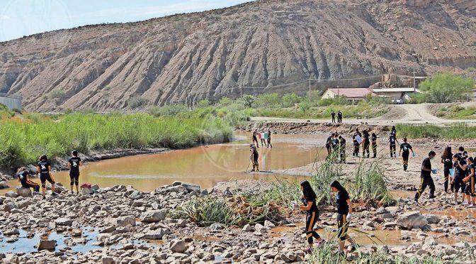 Chihuahua: analizan calidad de agua del Bravo (El Diario)
