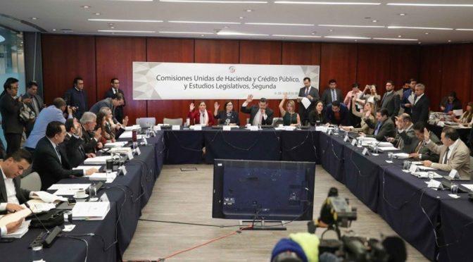CDMX: Aprueban comisiones sin cambios minutas de la Ley de Ingresos (Maya Comunicación)