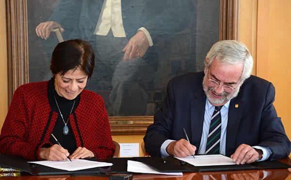 México: UNAM  y CONAGUA firman convenio para expandir el conocimiento hídrico (DGDC,UNAM)