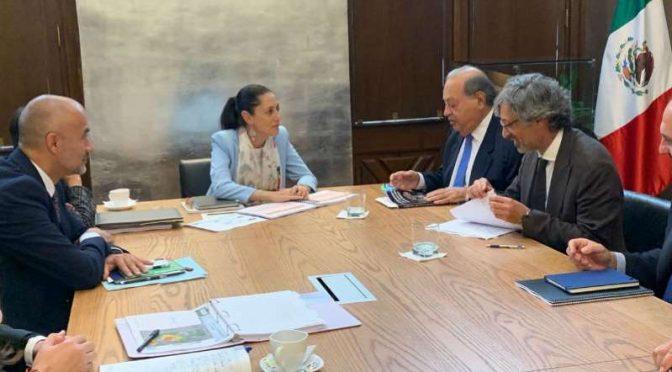 Carlos Slim busca invertir en agua para la capital (MSN noticias)