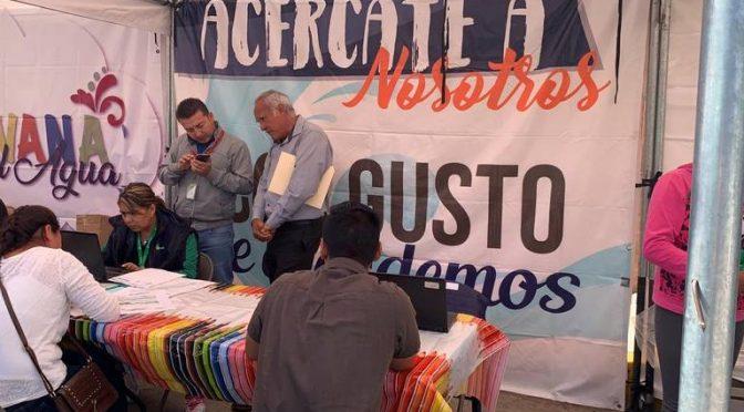 Realiza Agua de Puebla carava de servicios en  Santa Lucía (El Sol de Puebla)