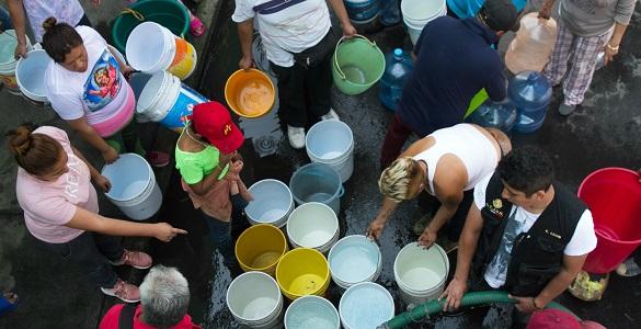 Volverán a reducir suministro de agua en la CDMX (DDM)