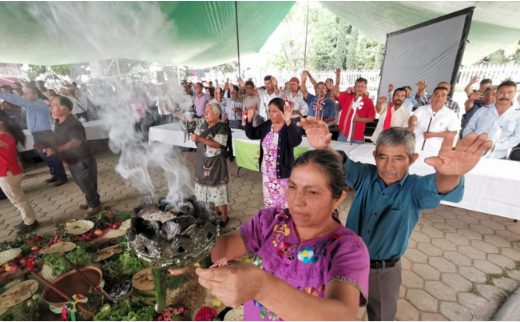 Avanza derecho de pueblos originarios para decidir sobre su agua en Oaxaca (El Universal)