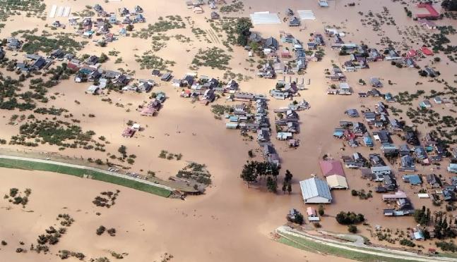 Japón: Evalúa daños tras el paso del tifón Hagibis (El Universal)
