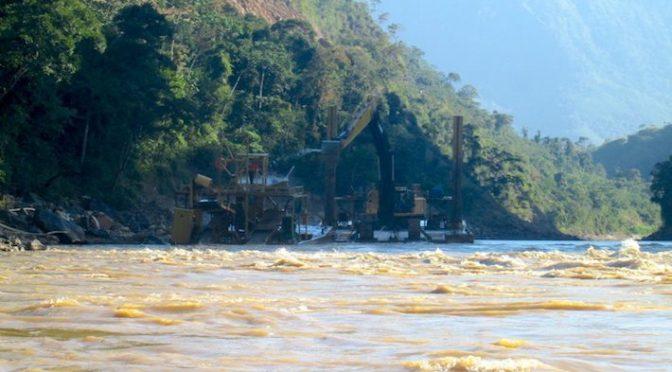 El mercurio sigue siendo una amenaza para los ríos de Sudamérica (Ocmal)