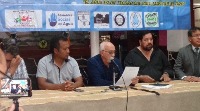 Fue ilegal la concesión por 30 años a la empresa Agua de Puebla, afirma Jorge Méndez (Desde Puebla.com)