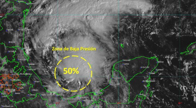 Emite Conagua aviso por posible ciclón tropical en el Golfo de México (Palco Noticias)