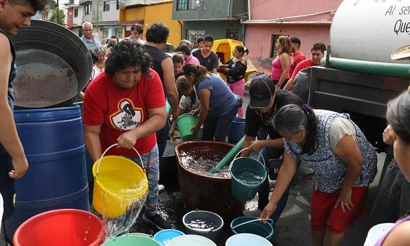 Reducción de agua en la CDMX se extiende hasta mayo del 2020 (DDM Benito Juarez)