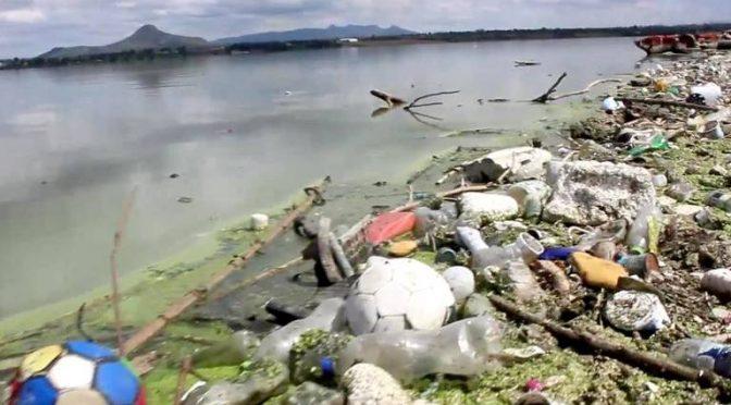 Hidalgo: Invertirá gobierno federal, 22 millones de pesos para catástrofe ambiental en presa Endhó (La Prensa)