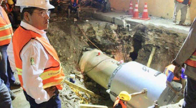 Yucatán: Menos fugas de agua (El Diario de Yucatán)