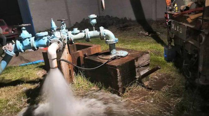 Tlaxcala: restablecen servicio de agua potable, en Panotla (El Sol de Tlaxcala)