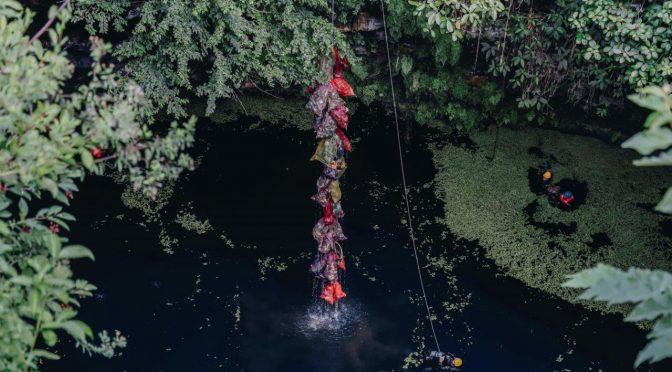 Yucatán: Extraen una tonelada de basura de cenote (Desde el Balcón)