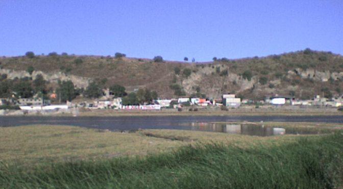 Edomex: Denuncian lago de aguas negras en zona de Xico (El universal)