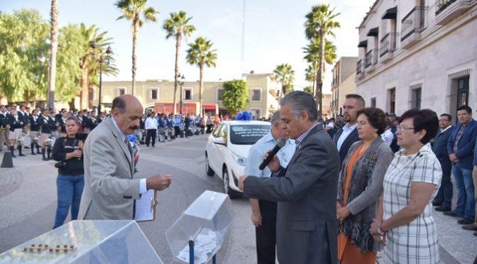 Aguascalientes: Premian a ciudadanos cumplidos en el pago de agua potable en Jesús María