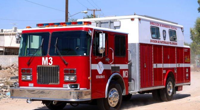 Mexicali: Cortes de agua afectan a bomberos (El Imparcial)