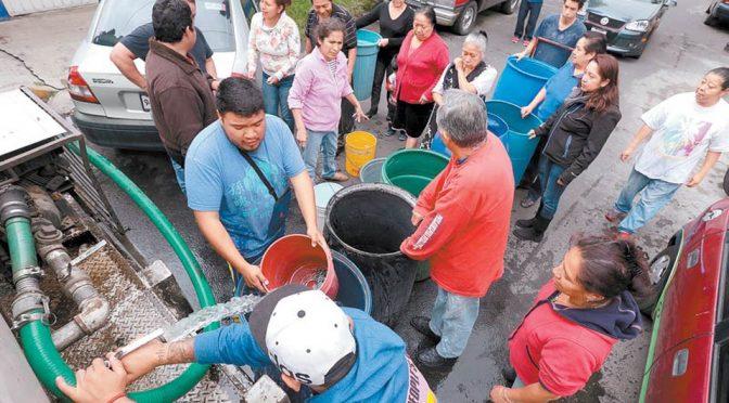 Coahuila: Se quedan sin agua en Nadadores (La Voz de Coahuila)