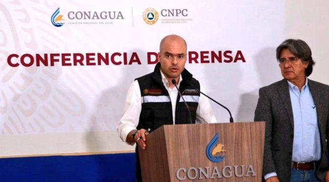 México: CONAGUA y CNPC prevén lluvias y frente frío número 5 (mvs noticias)