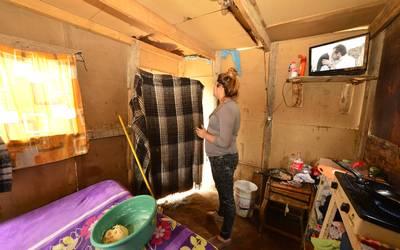 Chihuahua: se mete el agua a endebles viviendas (El Heraldo de Chihuahua)
