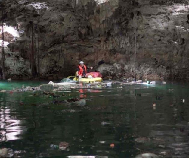 Yucatán: Cenotes continúan siendo presa de la basura (La tarde)