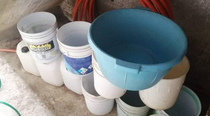 Integrantes del PRD convocan a no pagar recibos de agua (El Sol de Acapulco)